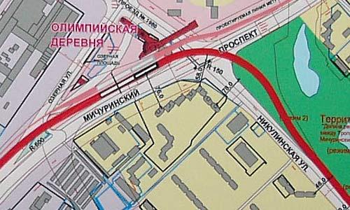"""Схема станции """"Олимпийская"""