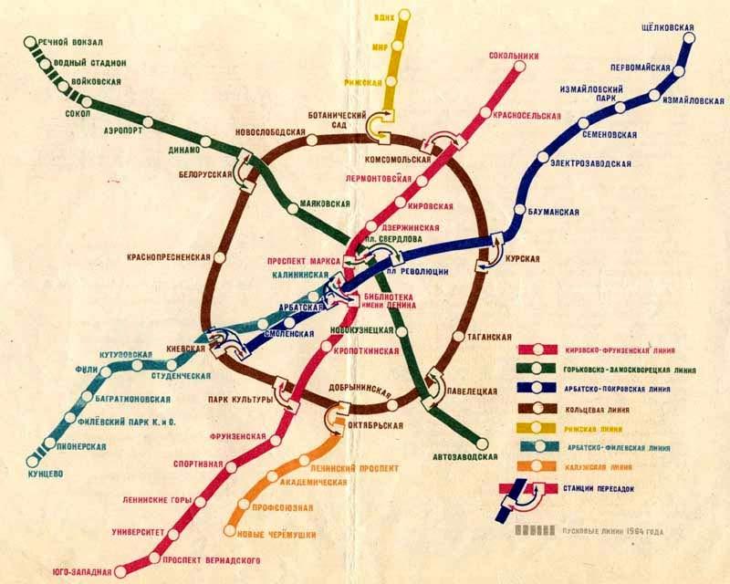 Схема 1954 года